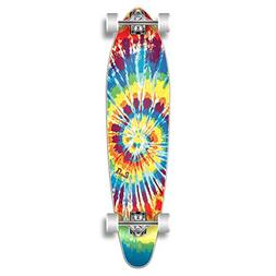 special graphic complete longboard kicktail