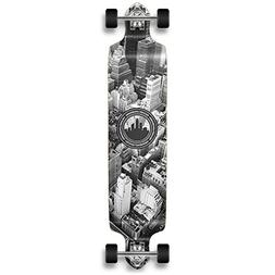 YOCAHER Professional Speed Drop Down Complete Longboard Skat