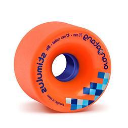 Orangatang Stimulus 70 mm 80a Freeride Longboard Skateboard