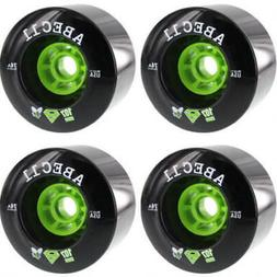 ABEC 11 SuperFly Black Longboard Skateboard Wheels - 107mm 7