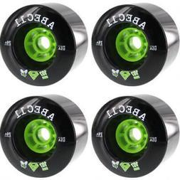 ABEC 11 SuperFly Black Longboard Skateboard Wheels - 107mm 7