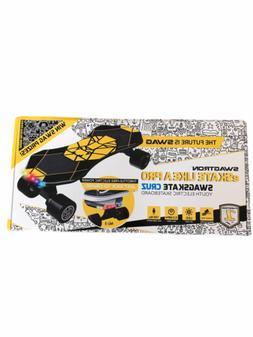 "Swagtron Swagskate Cruz NG-3 Electric Skateboard 9"" 72mm Whe"