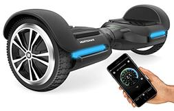 Swagtron T580 App-Enabled Bluetooth Hoverboard w/Speaker Sma