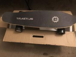 """BLITZART Tornado 28"""" Electric Skateboard Electronic Longboar"""