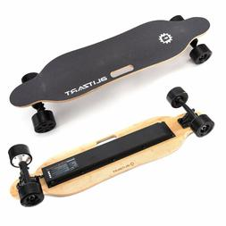 "BLITZART Tornado 38"" Electric Skateboard Longboard 3.5"" Hub-"