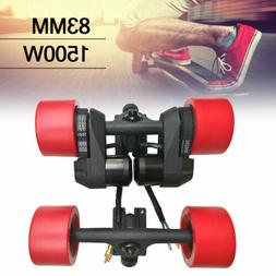 "US 36V-42V 83MM 7"" Truck CNC Electric Longboard Skateboard M"