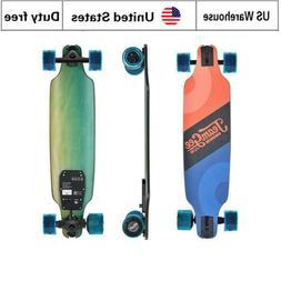 Single Motor 350W Electric Skateboard Wheels Longboard with
