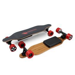 USED Electric Skateboard 9 Miles 14 MPH Dual 250 W Hub Motor