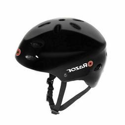 Razor® V-17 Youth Multi-Sport Helmet, Gloss Black New/Old S