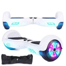White 6.5 Inch Two-Wheeled Intelligent Electric Skateboard B