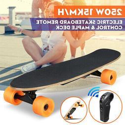 Wireless Remote Control Motor 4 Wheel Electric Skateboard Lo