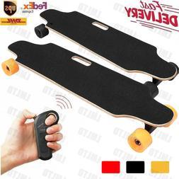 Wireless Remote Control Motor Electric Skateboard Longboard