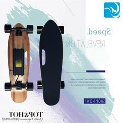 Wireless Remote Electric Skateboard Longboard Skate Penny Bo