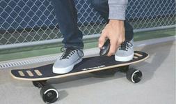 Razor RazorX DLX Electric Skateboard New Open Box- Black